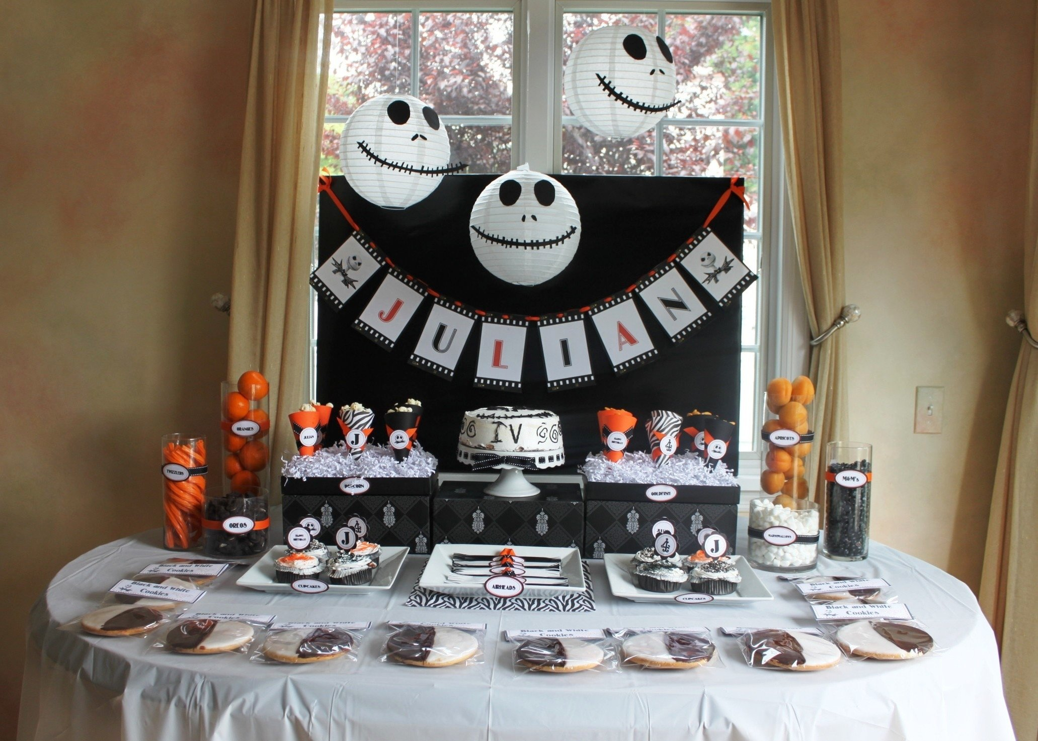 10 Lovable Nightmare Before Christmas Party Ideas