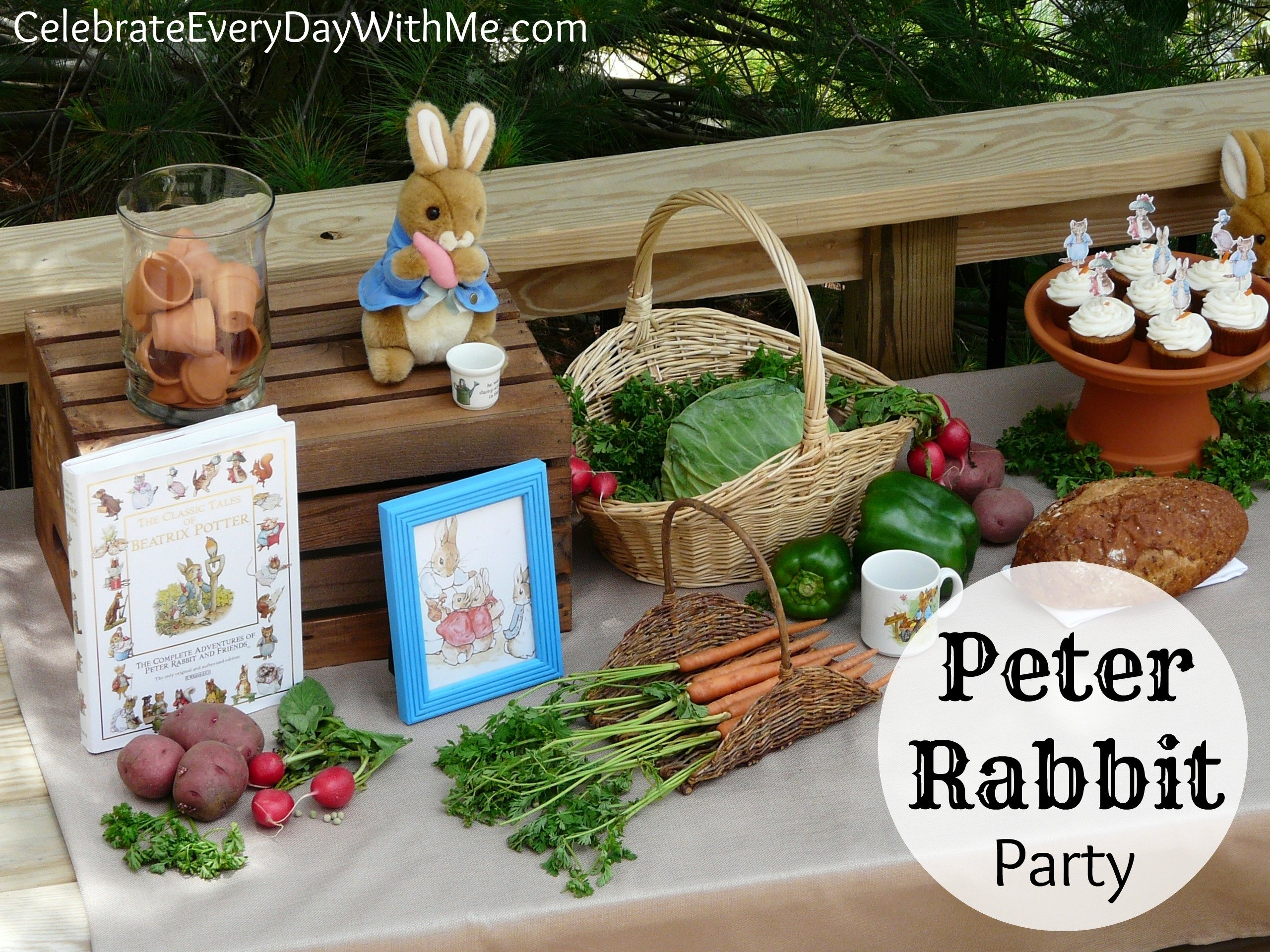 10 Perfect Peter Rabbit Baby Shower Ideas a peter rabbit party part 2 celebrate every day with me 2020