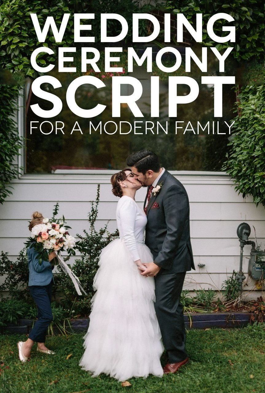 10 Beautiful Blended Family Wedding Ceremony Ideas a sample wedding ceremony script for a modern family a practical 2021