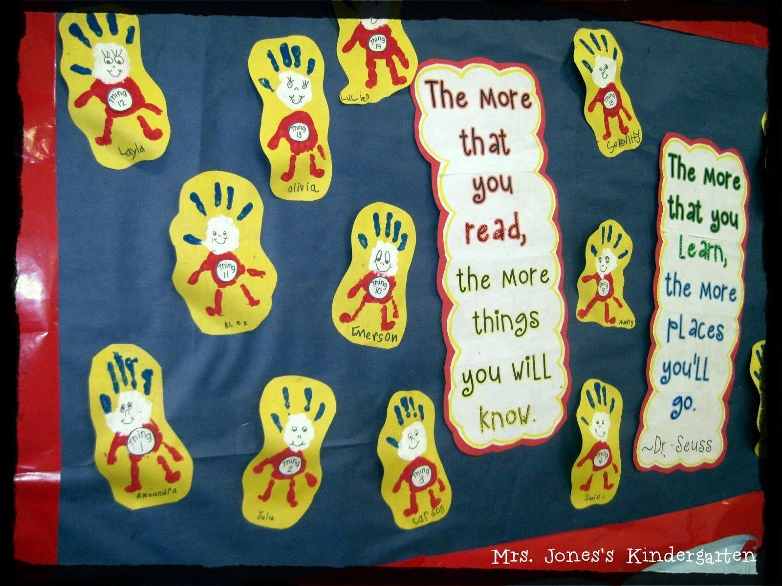 10 Best Dr. Seuss Bulletin Board Ideas For Kindergarten a seuss rhyme mrs joness kindergarten 1 2021