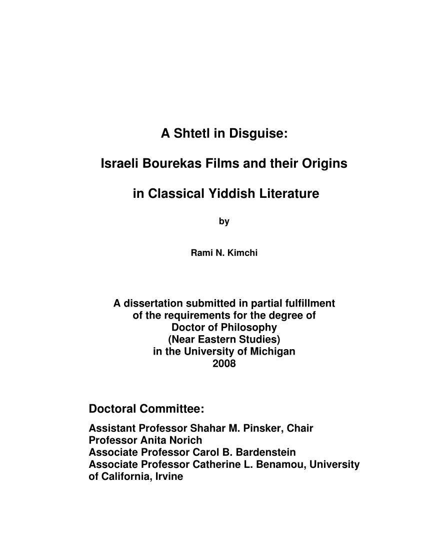 10 Elegant The Declaration Of Independence Elaborates On The Enlightenment Idea Of a shtetl in disguise israeli bourekas pdf download available 2020
