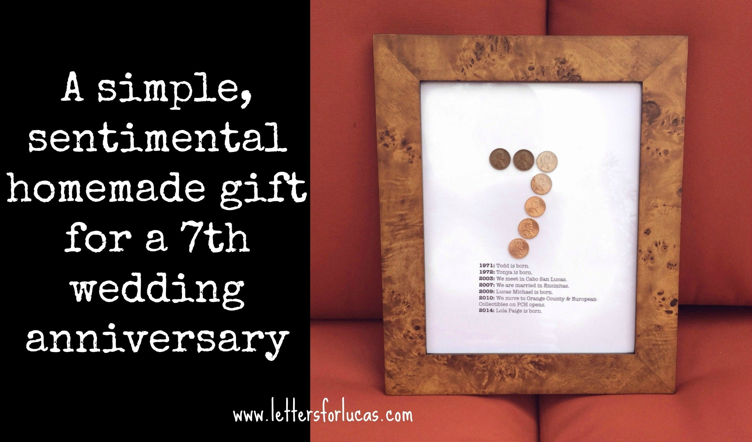 10 Best Inexpensive Anniversary Ideas For Him a simple gift idea for your 7th wedding anniversary 7th 2020