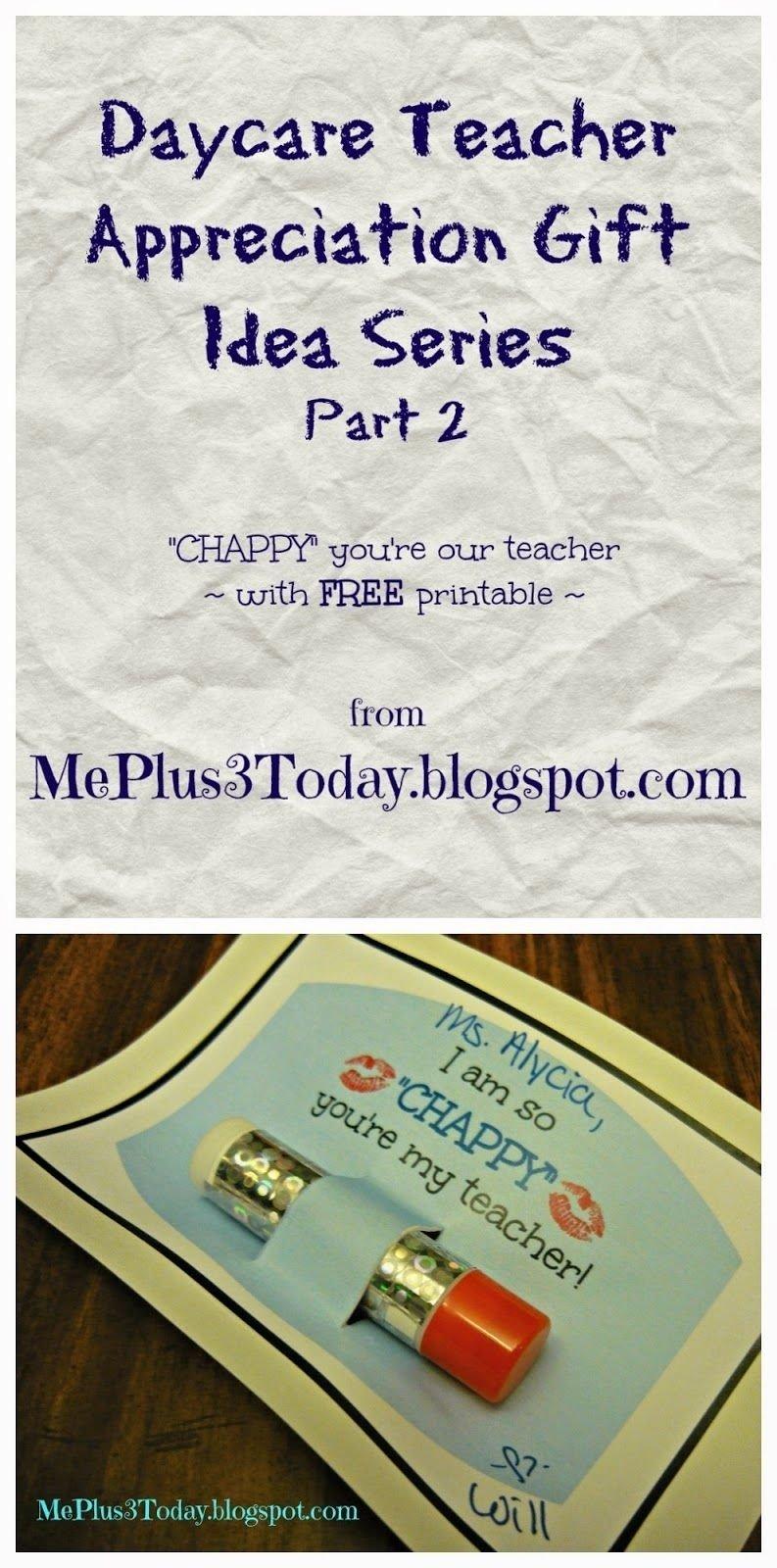 10 Pretty Daycare Teacher Appreciation Gift Ideas a simple teacher appreciation gift idea appreciation gifts 2020