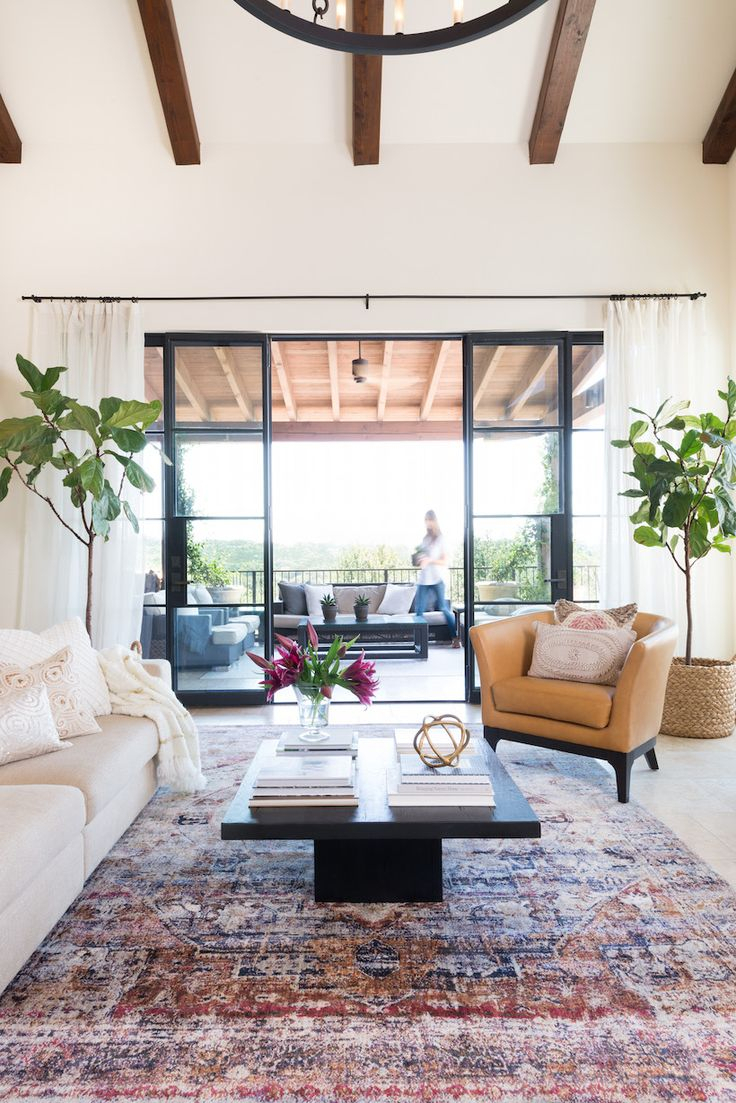 10 Nice Carpeting Ideas For Living Room a splash of color in my living room from camillestyles 2020