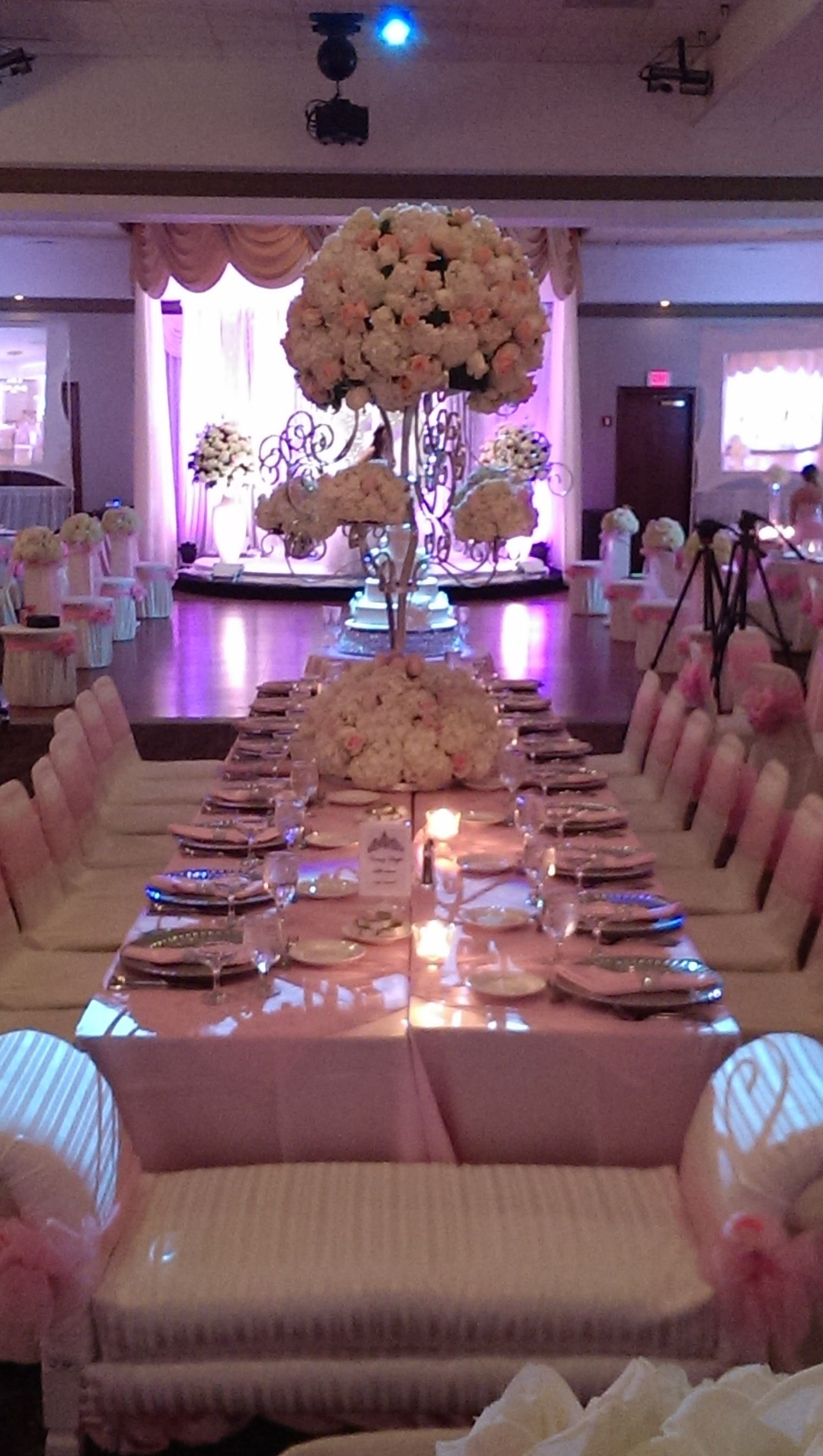10 Amazing Sweet 16 Table Decoration Ideas a stylish sweet 16 table setup bookingentertainment sweet16 1 2020
