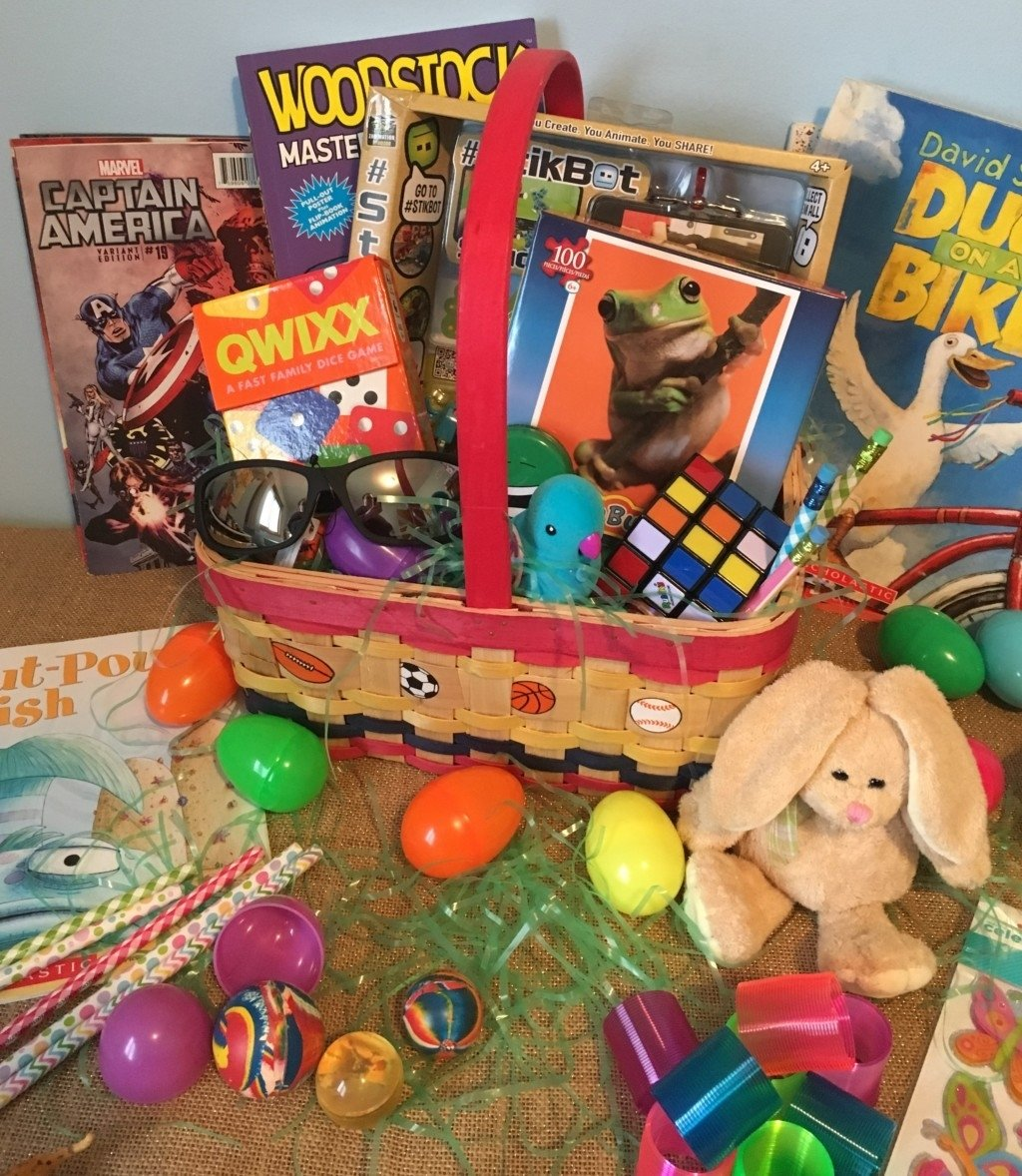 10 Ideal Ideas For Easter Basket Stuffers a sugar free easter non candy easter basket ideas 2020