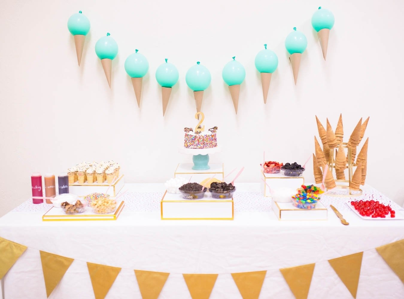 10 Most Recommended Ice Cream Social Party Ideas a two sweet ice cream birthday party project nursery 2020