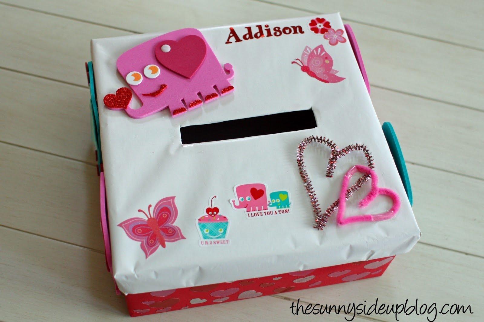 10 Stylish Valentine Shoe Box Decorating Ideas a valentines box the sunny side up blog 2021