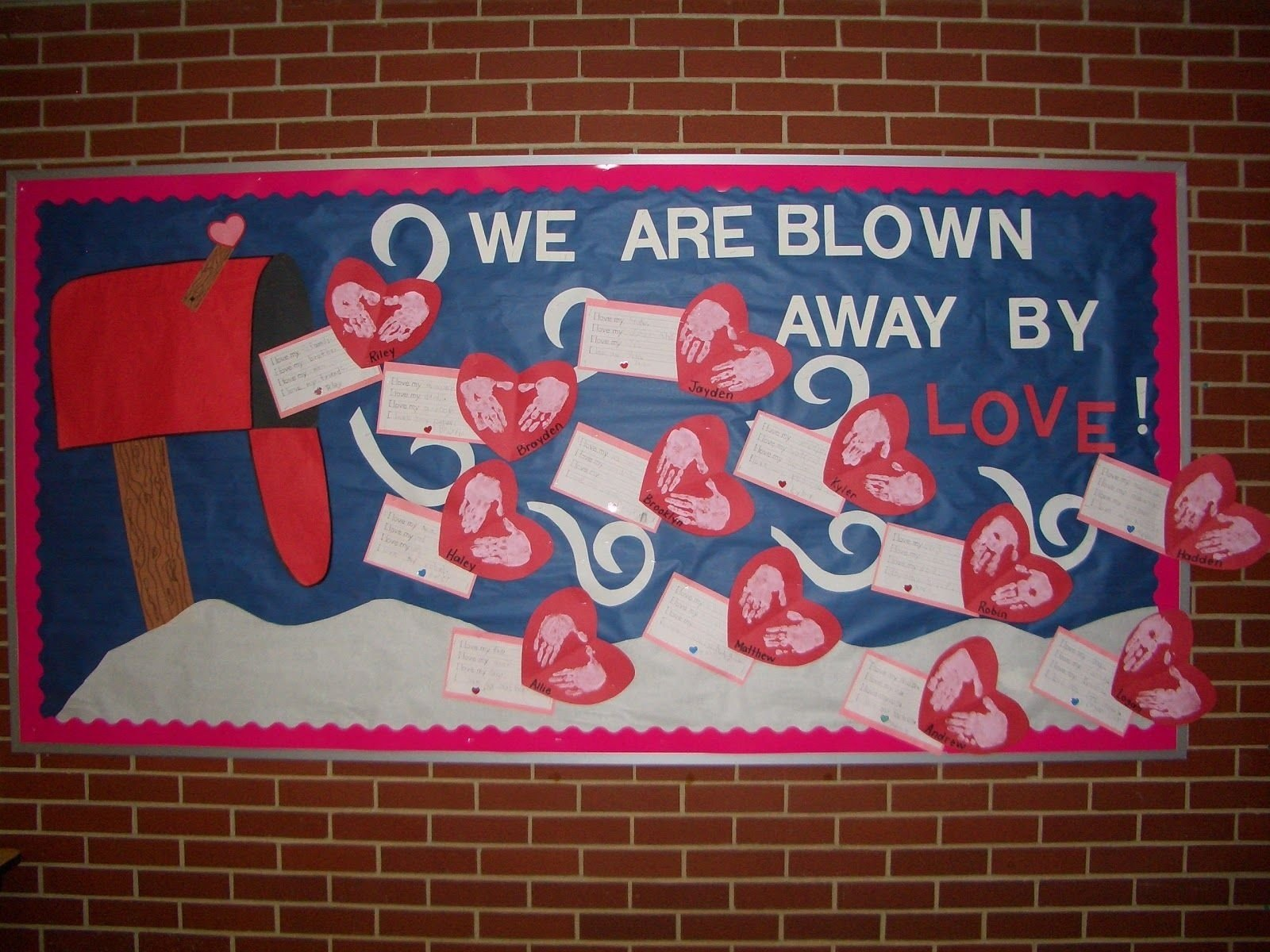 10 Beautiful February Bulletin Board Ideas For Teachers a view from a different angle our february bulletin board