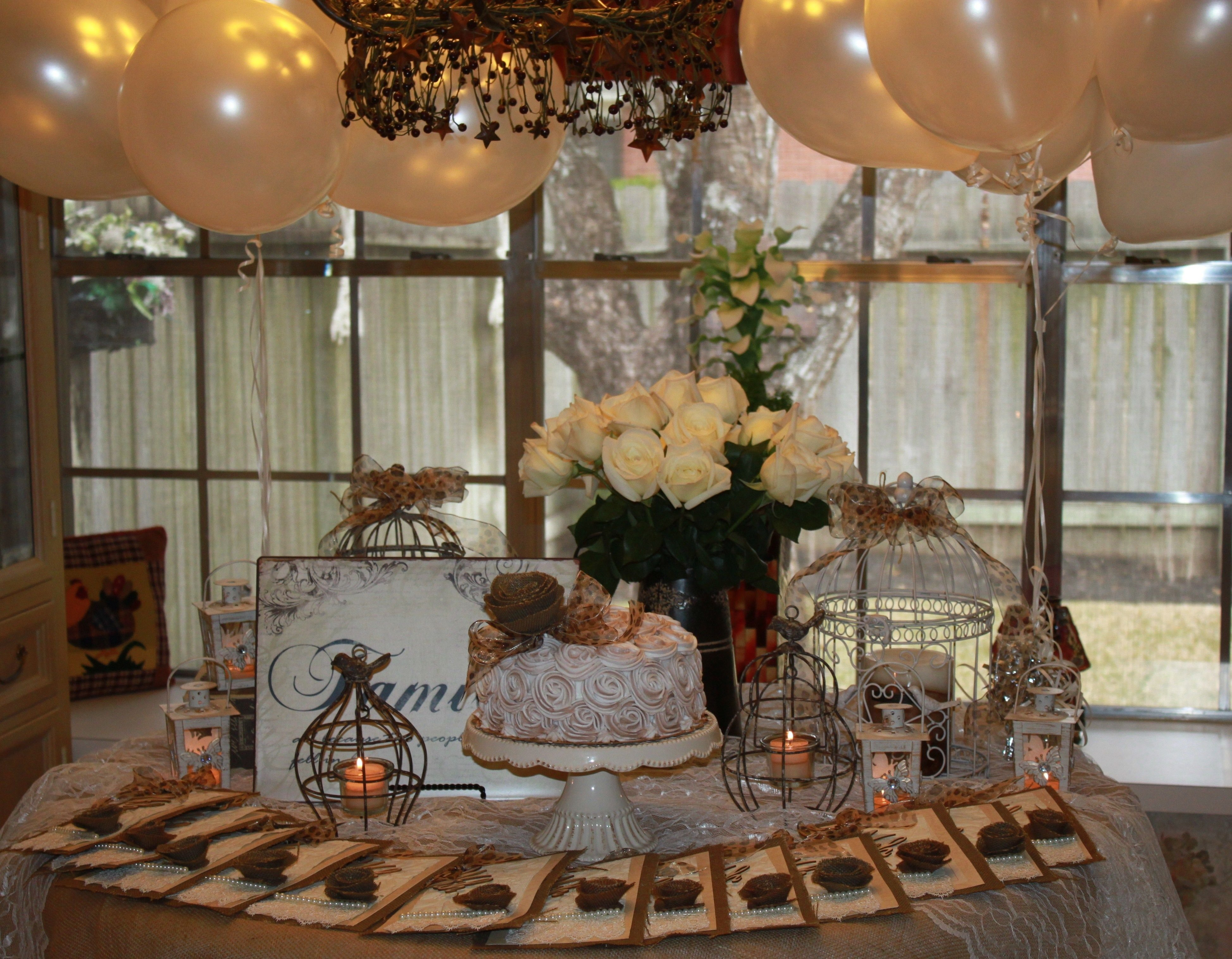 10 Stunning 75Th Birthday Ideas For Mom a vintage garden themed party for moms 75th birthday theme 2021