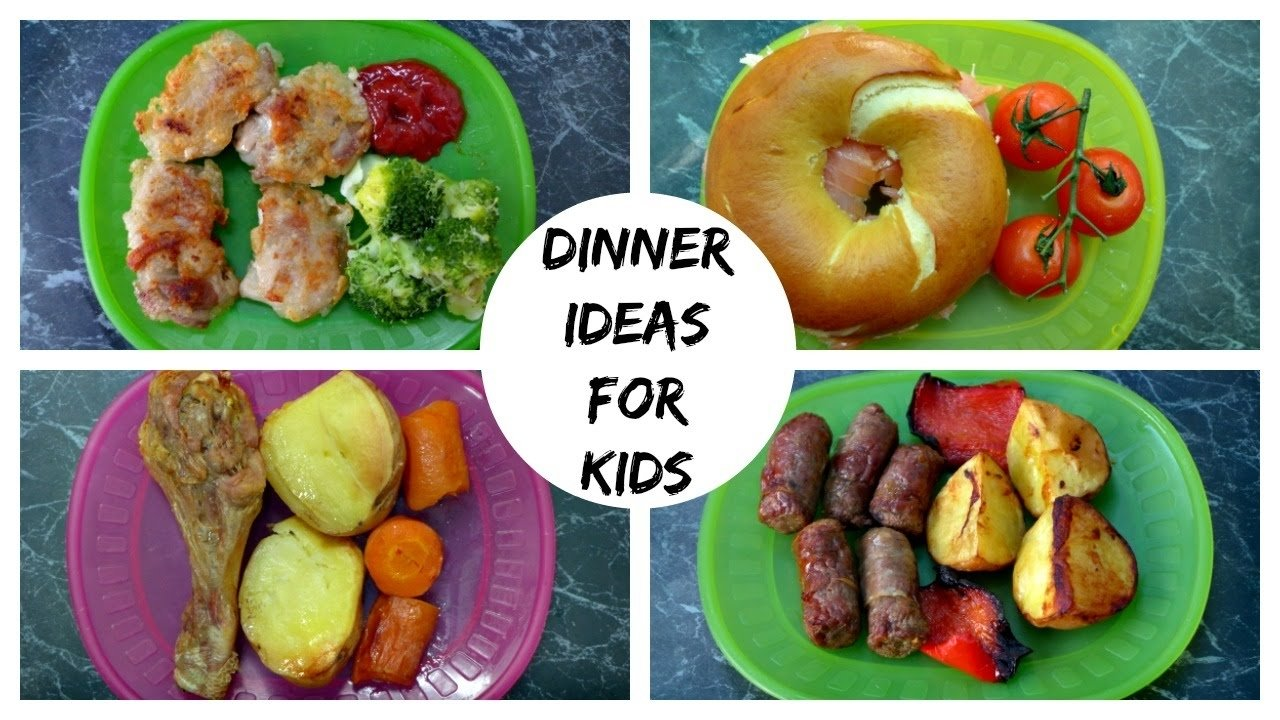 a week of dinner ideas for kids - youtube