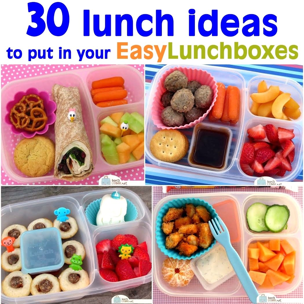 a whole month of packed lunch ideas [video
