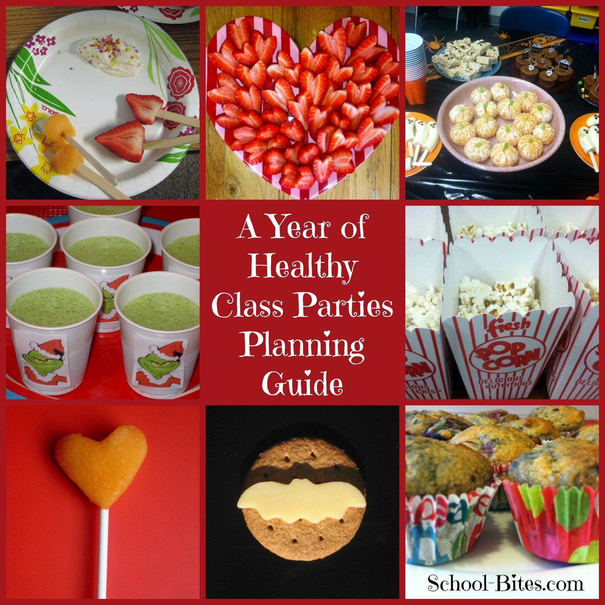 10 Attractive Snack Ideas For A Party a year of healthy class parties a planning guide for parents 1 2021