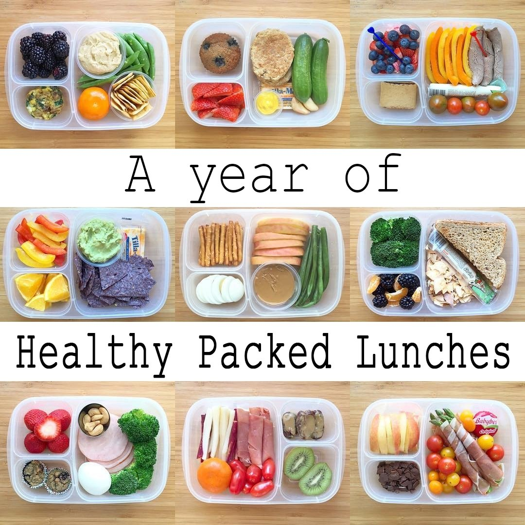 10 Ideal Healthy Packed Lunch Ideas For Work a year of healthy packed lunches video easylunchboxeseasylunchboxes 5