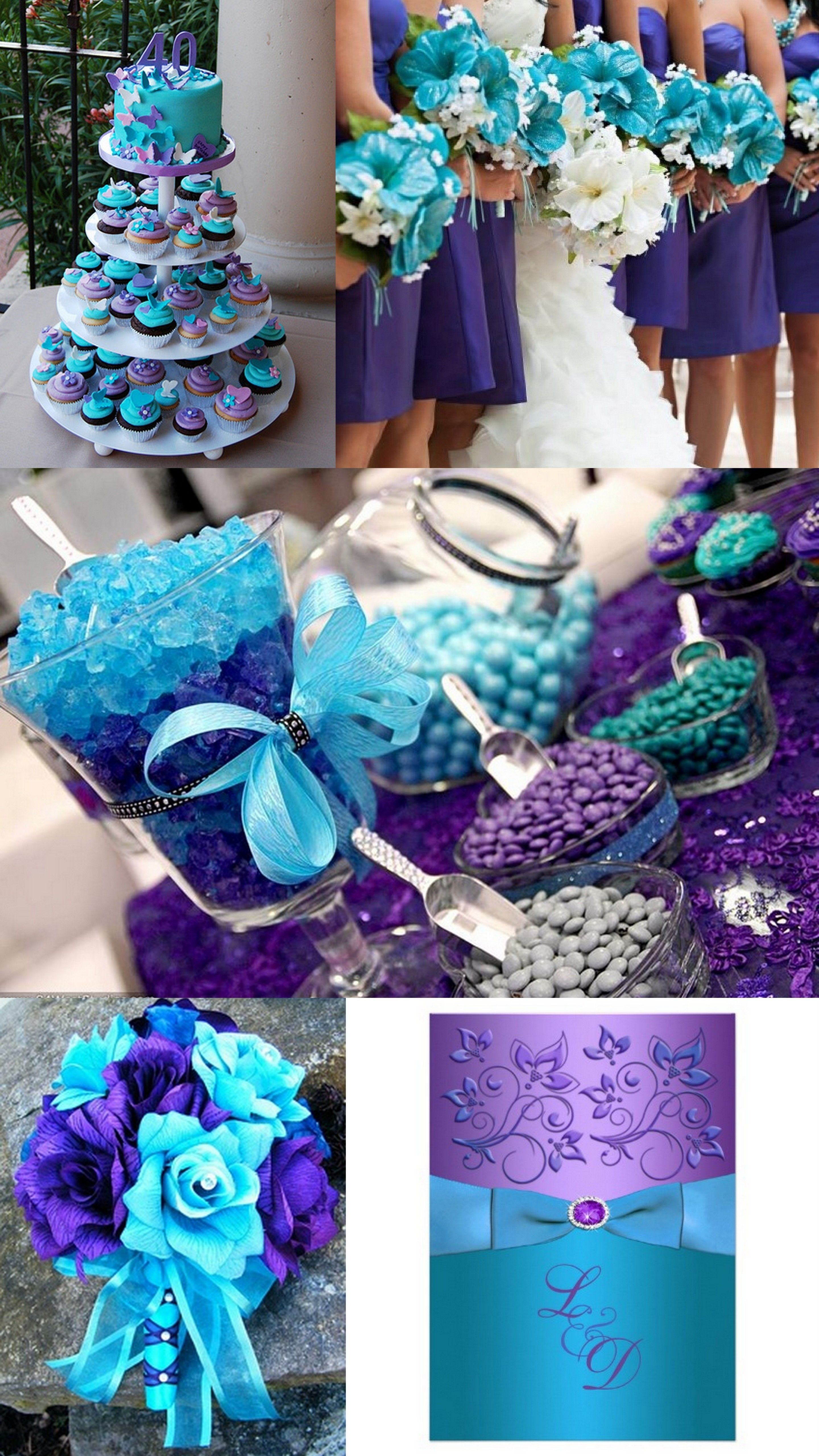 10 Pretty Teal And Purple Wedding Ideas a9 event space turquoise weddings purple wedding and bright colours 3 2020