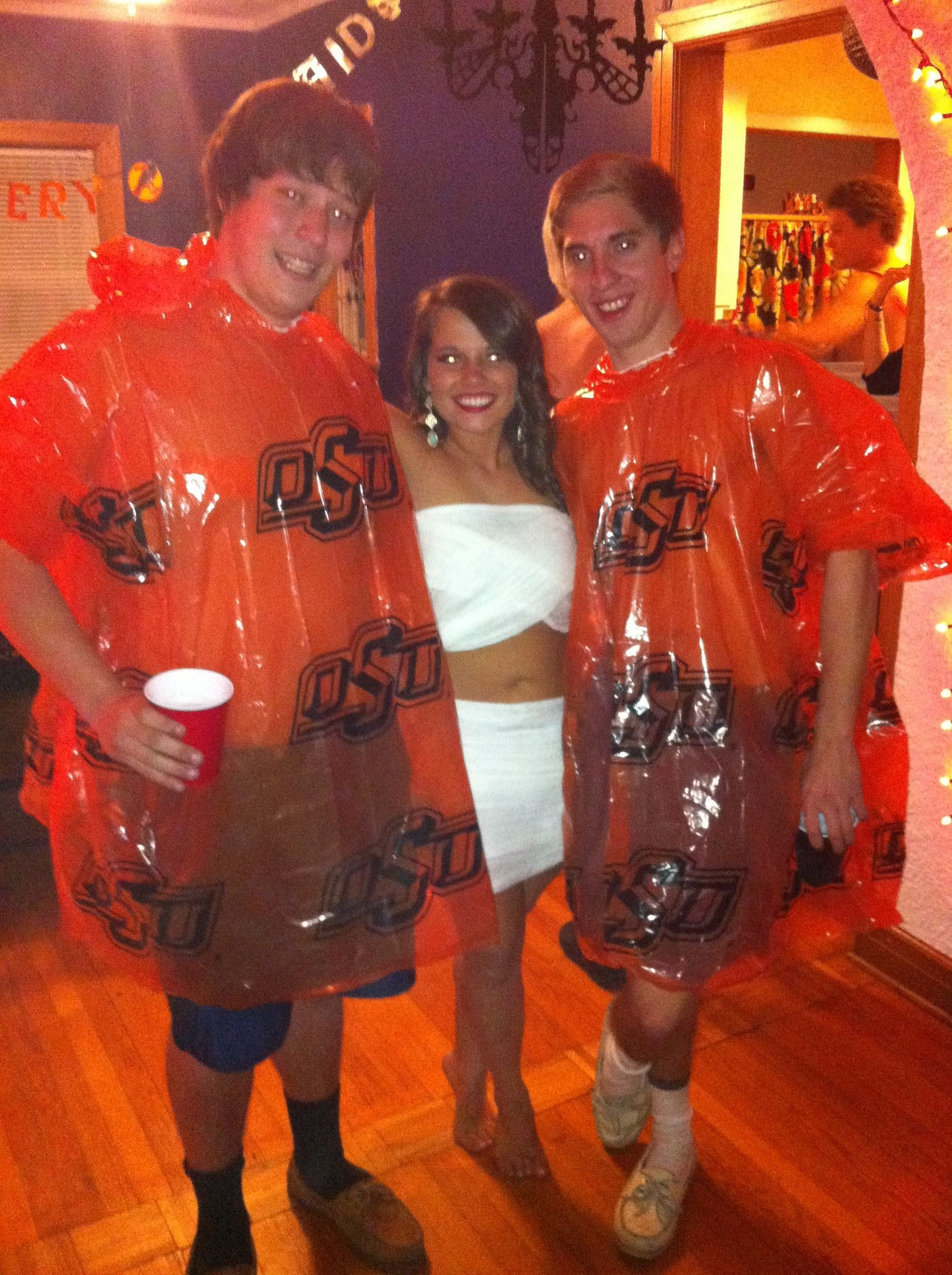 abc party costume ideas for guys! ponchos, quick and easy | abc
