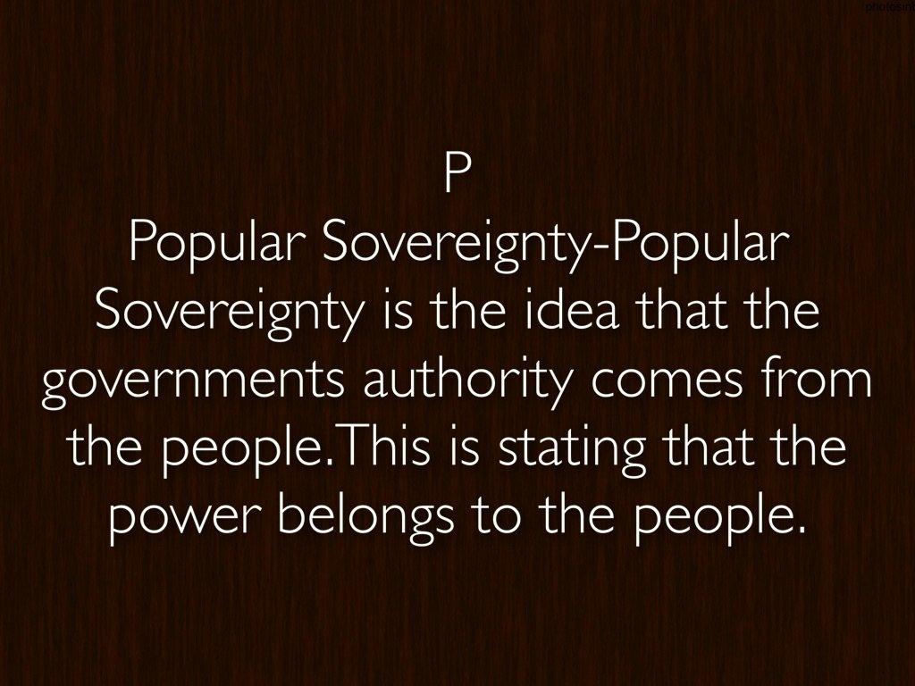 10 Gorgeous Popular Sovereignty Was The Idea That abcs of historyjordan hodges 2021