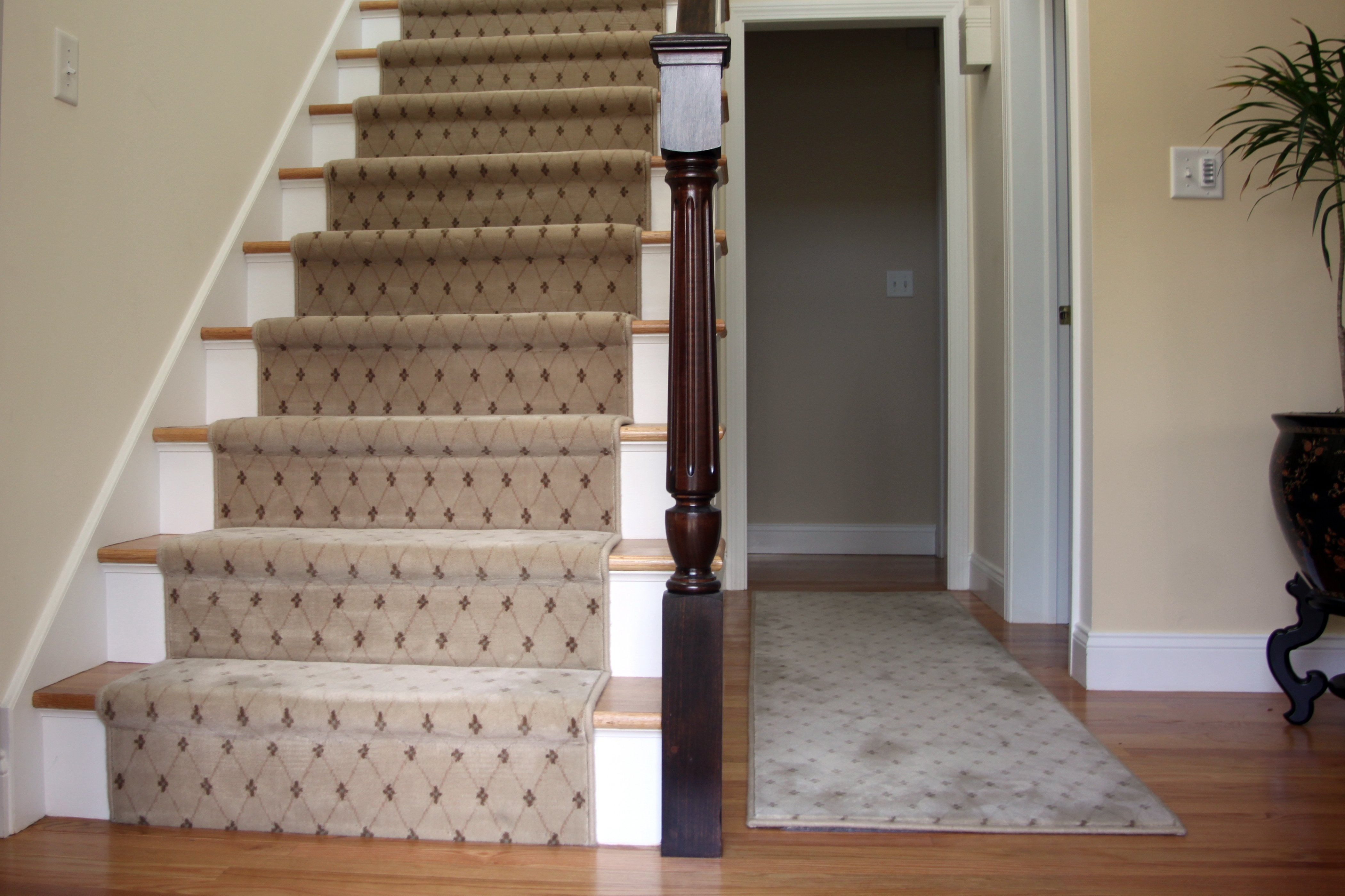 about hall stairs and landing ideas of stair runner carpet