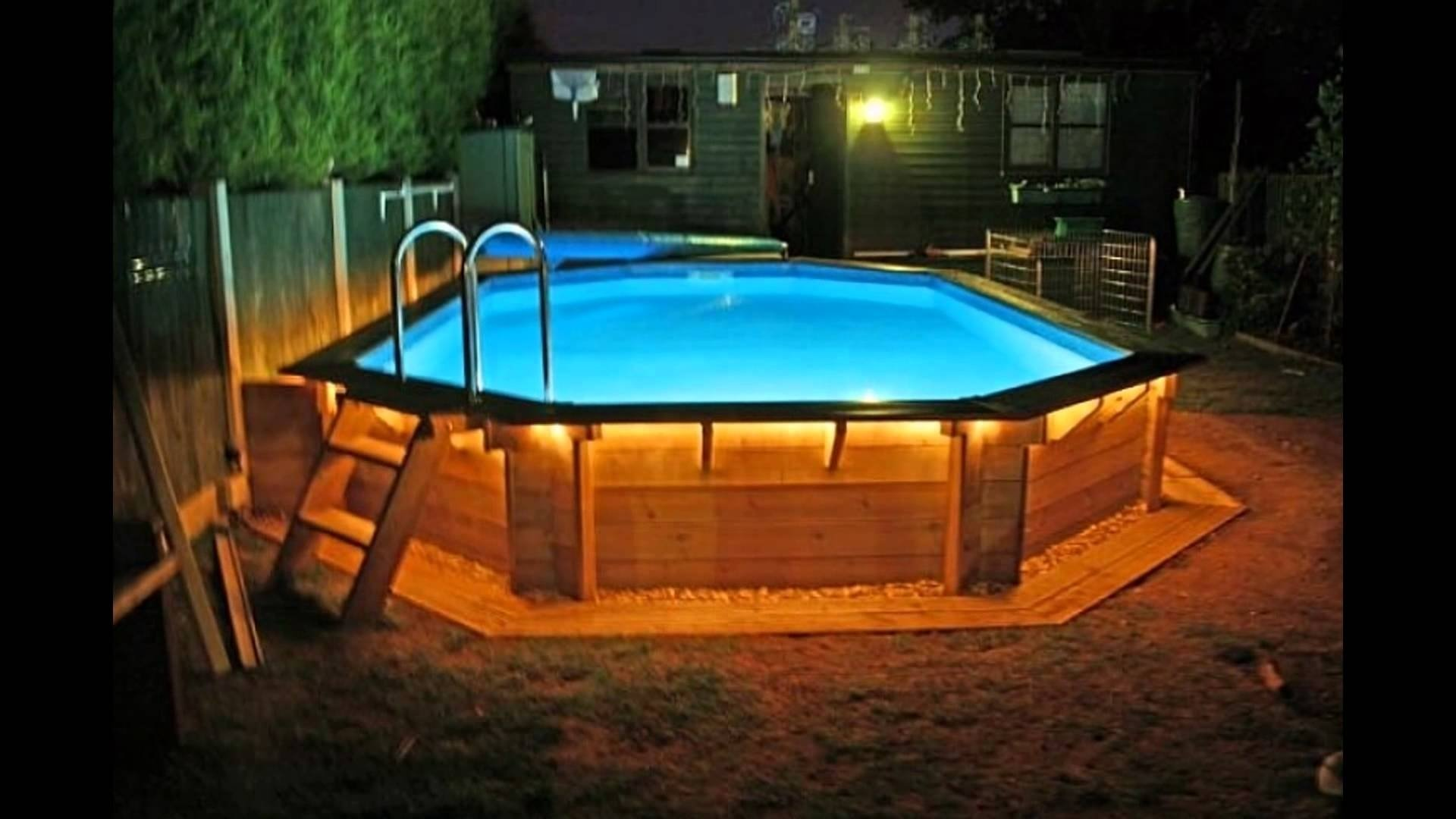 10 Pretty Above Ground Pool Deck Ideas Pictures above ground pool deck pictures ideas youtube 3