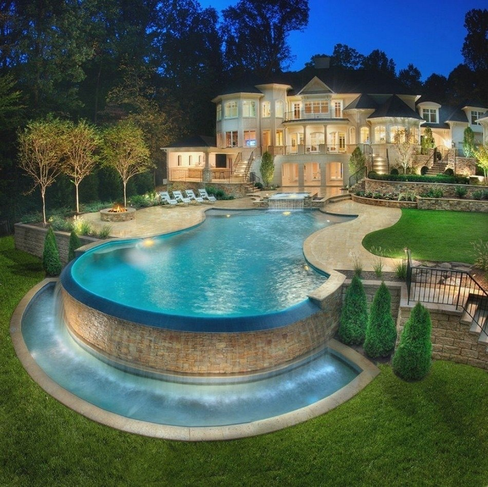 10 Stylish Above Ground Pool Landscape Ideas above ground pool ideas backyard pools also landscaping home with 2020
