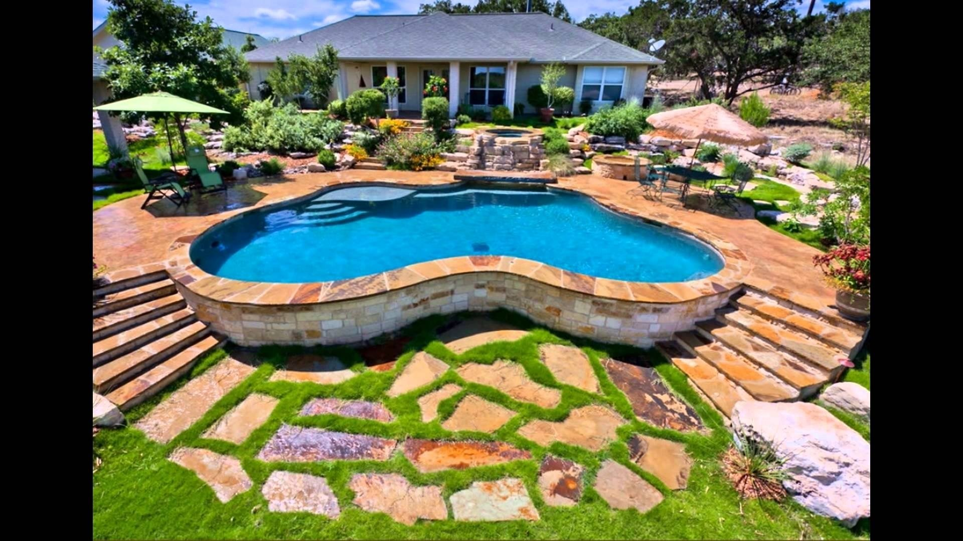 10 Famous Landscaping Ideas For Above Ground Pools above ground pool landscaping ideas free youtube 1