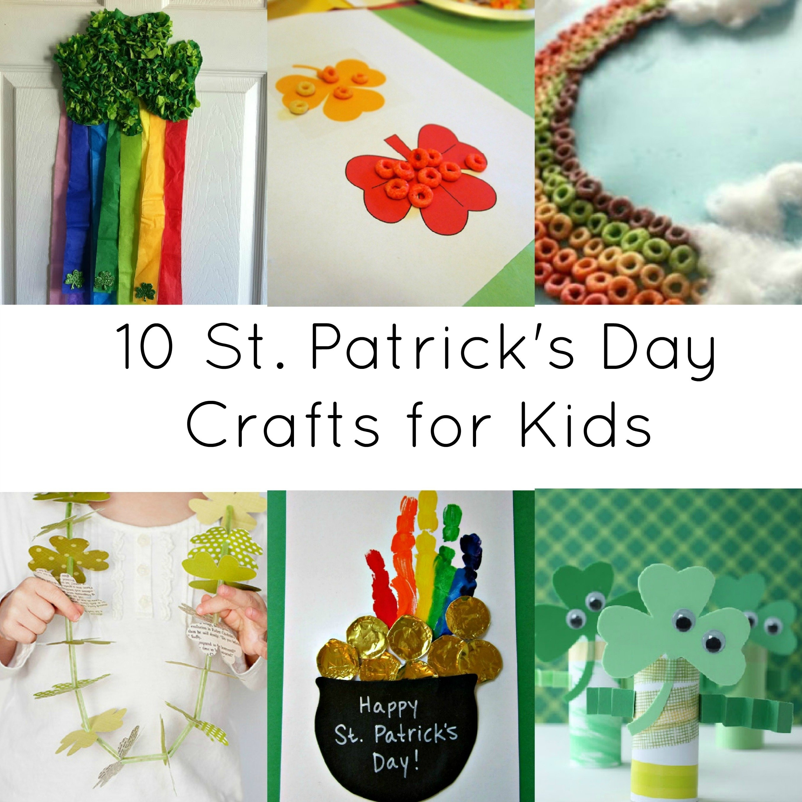 activities for kids: 10 st. patrick day crafts | crystalandcomp