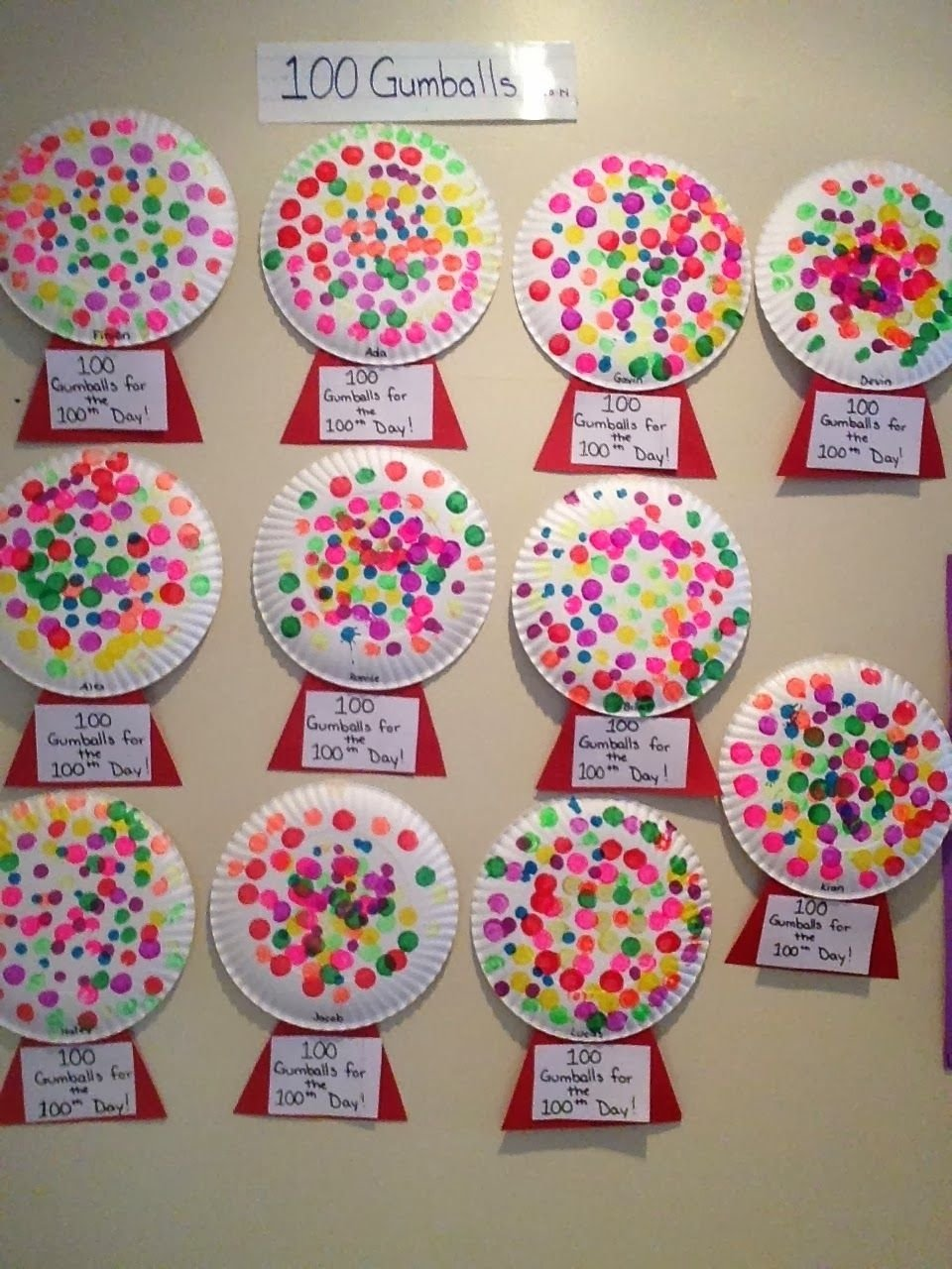 10 Wonderful 100 Day Of School Ideas For Kindergarten activity for the 100th day of school preschool and pre k 1 2020