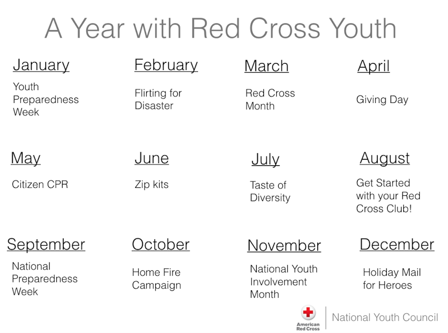 10 Spectacular Club Ideas For Middle School activity guides american red cross youth 1