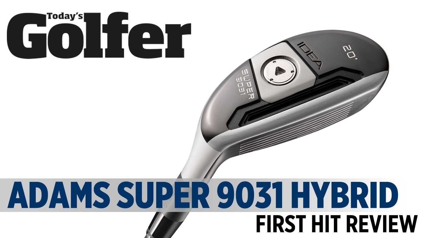 adams golf idea super 9031 hybrid - first hit review - today's