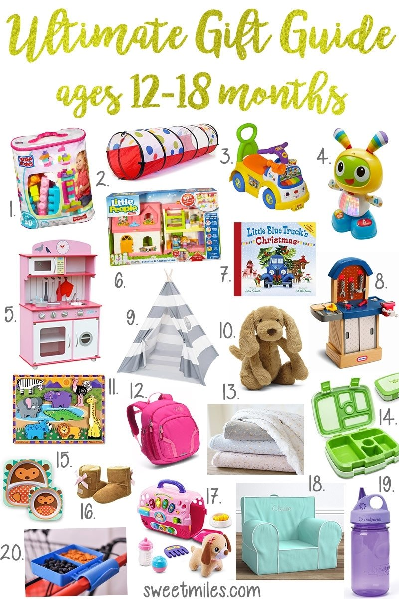 adeline's christmas wish list + gift ideas for toddlers ages 12-18