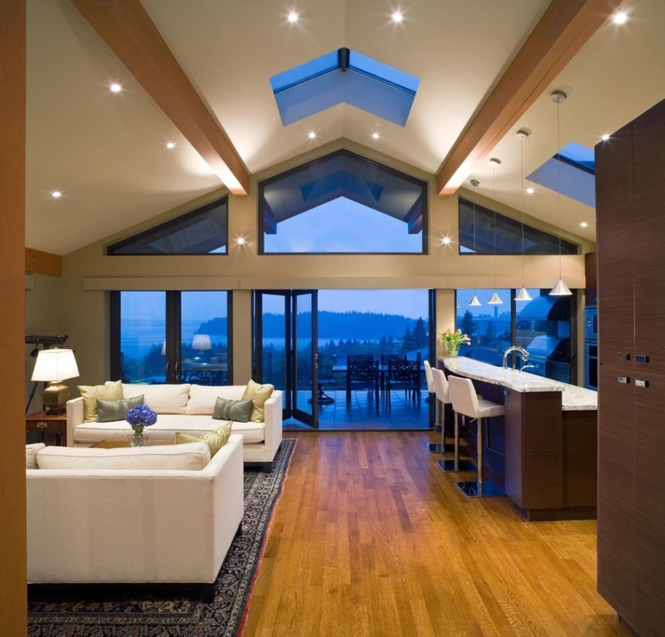 10 Trendy Lighting Ideas For Vaulted Ceilings admirable vaulted ceiling lighting ideas picture for living room 2020