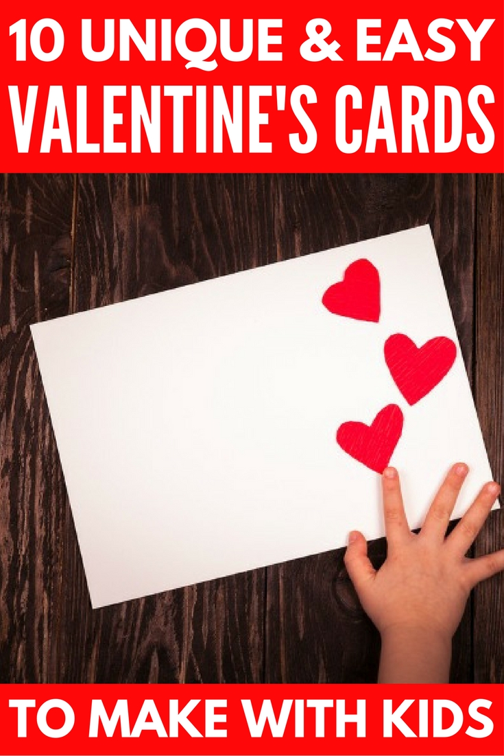 10 Attractive Valentine Card Ideas For Kids adorable diy valentines day cards to make with your kids 1 2020