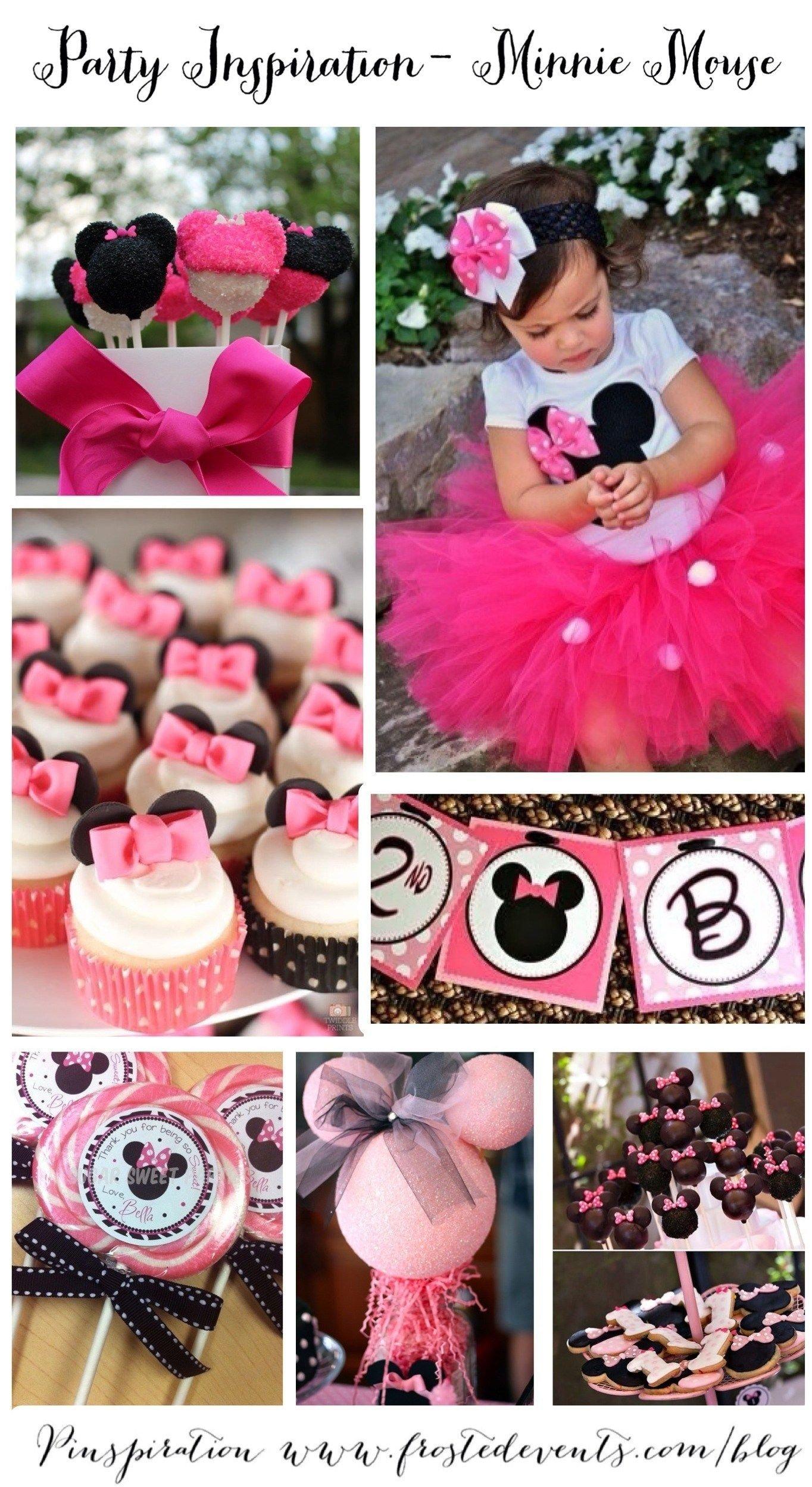 10 Unique Ideas For Minnie Mouse Party adorable minnie mouse party ideas lilas fete theme minnie mouse 2021