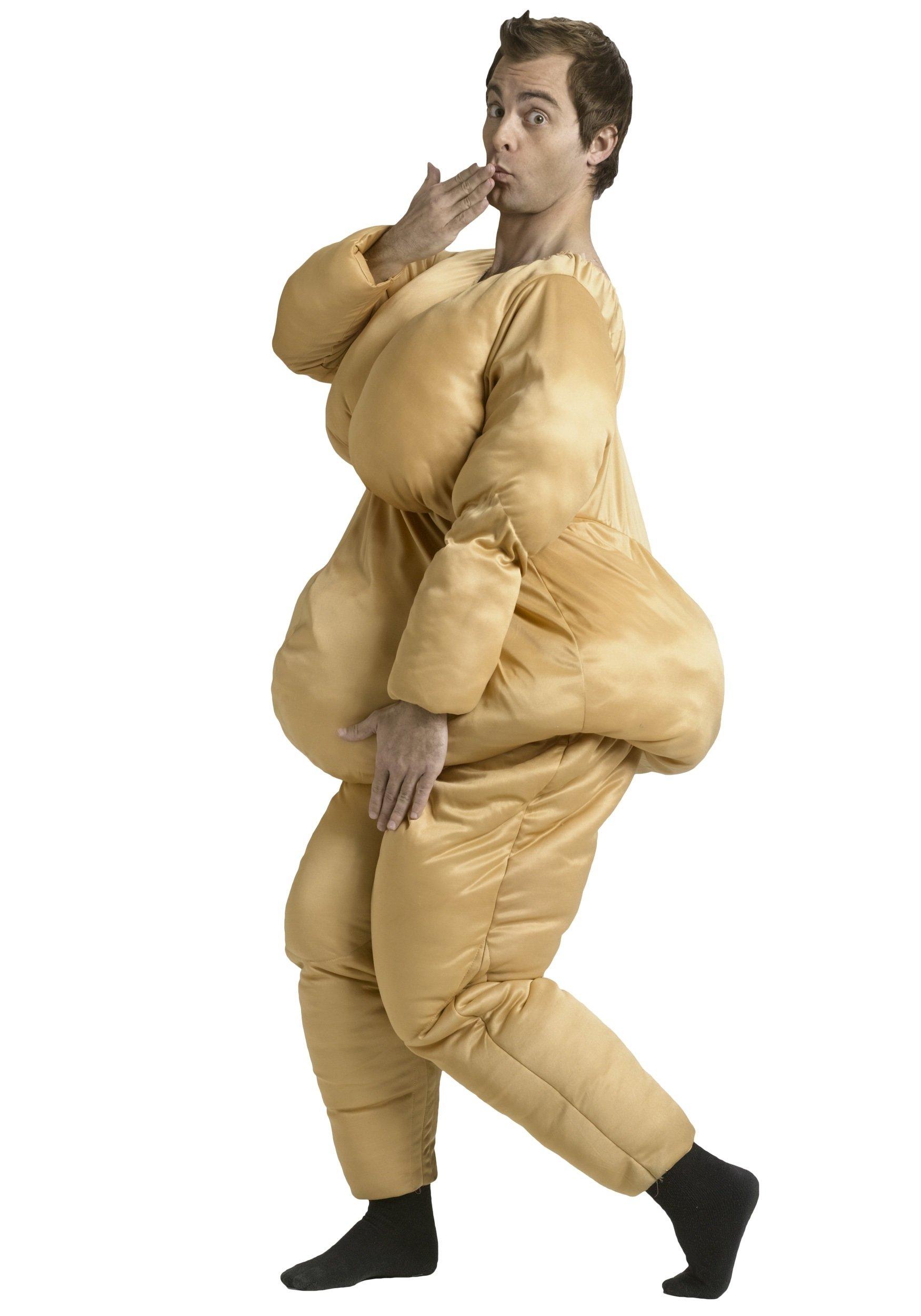 10 Attractive Halloween Costume Ideas For Big Men adult fat suit costume 2021