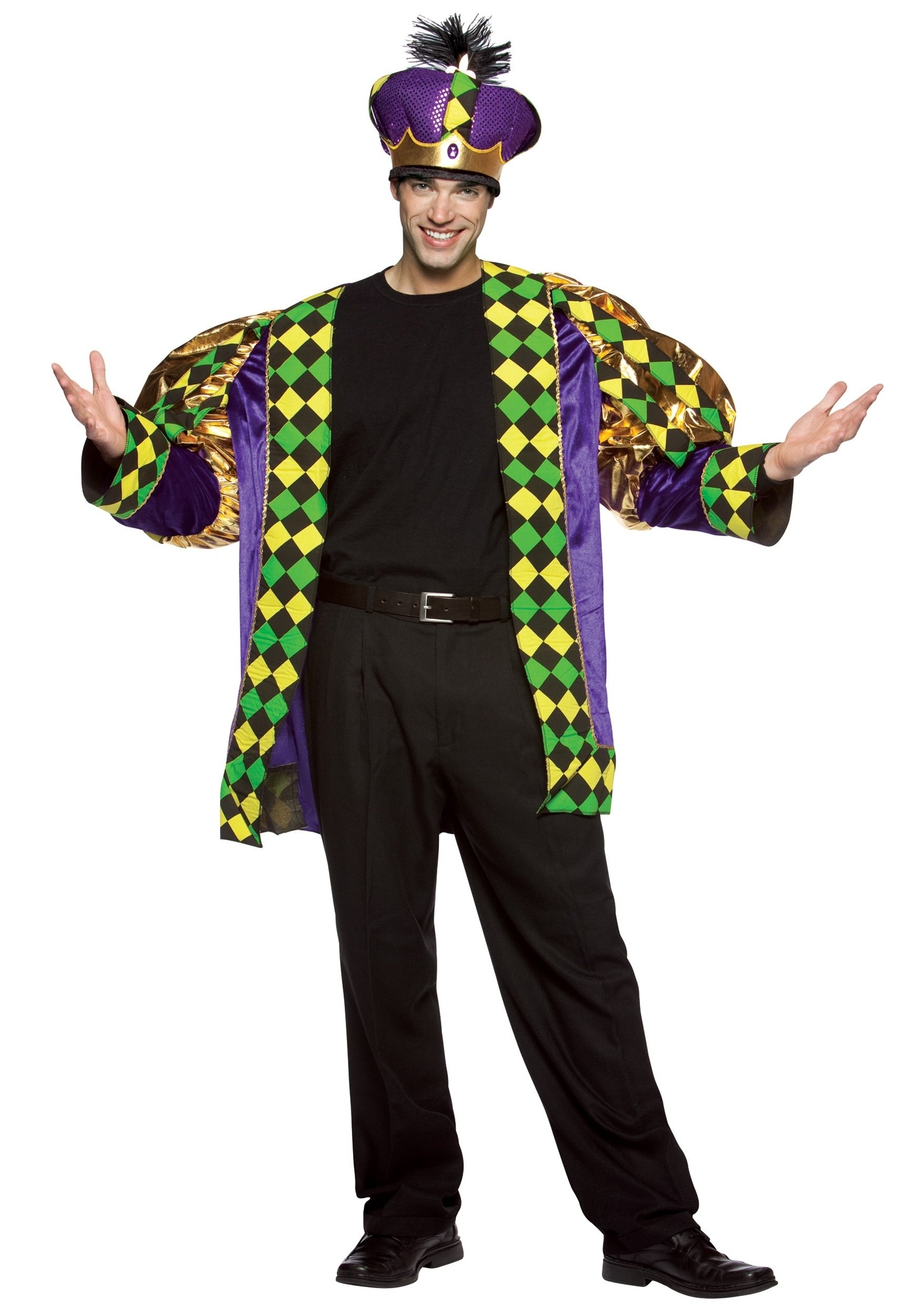 10 Awesome Mardi Gras Dress Up Ideas adult mardi gras king costume 2 2020