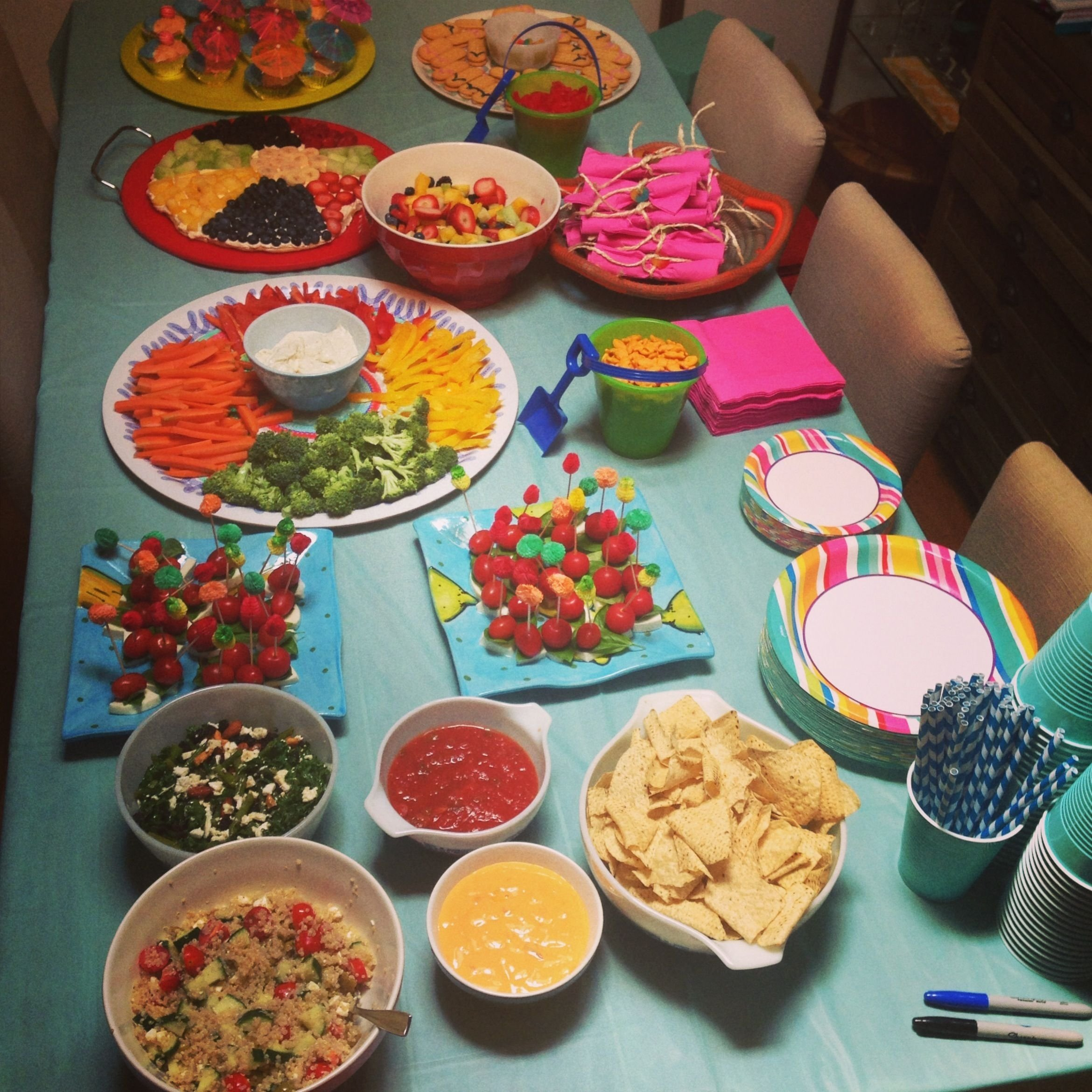 adult pool party food table | hosting | pinterest | adult pool