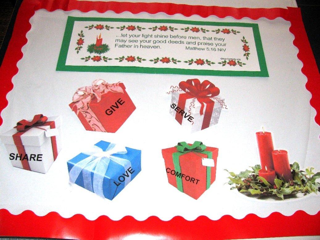 10 Ideal Christmas Church Bulletin Board Ideas advent and christmas bulletin boards 2020