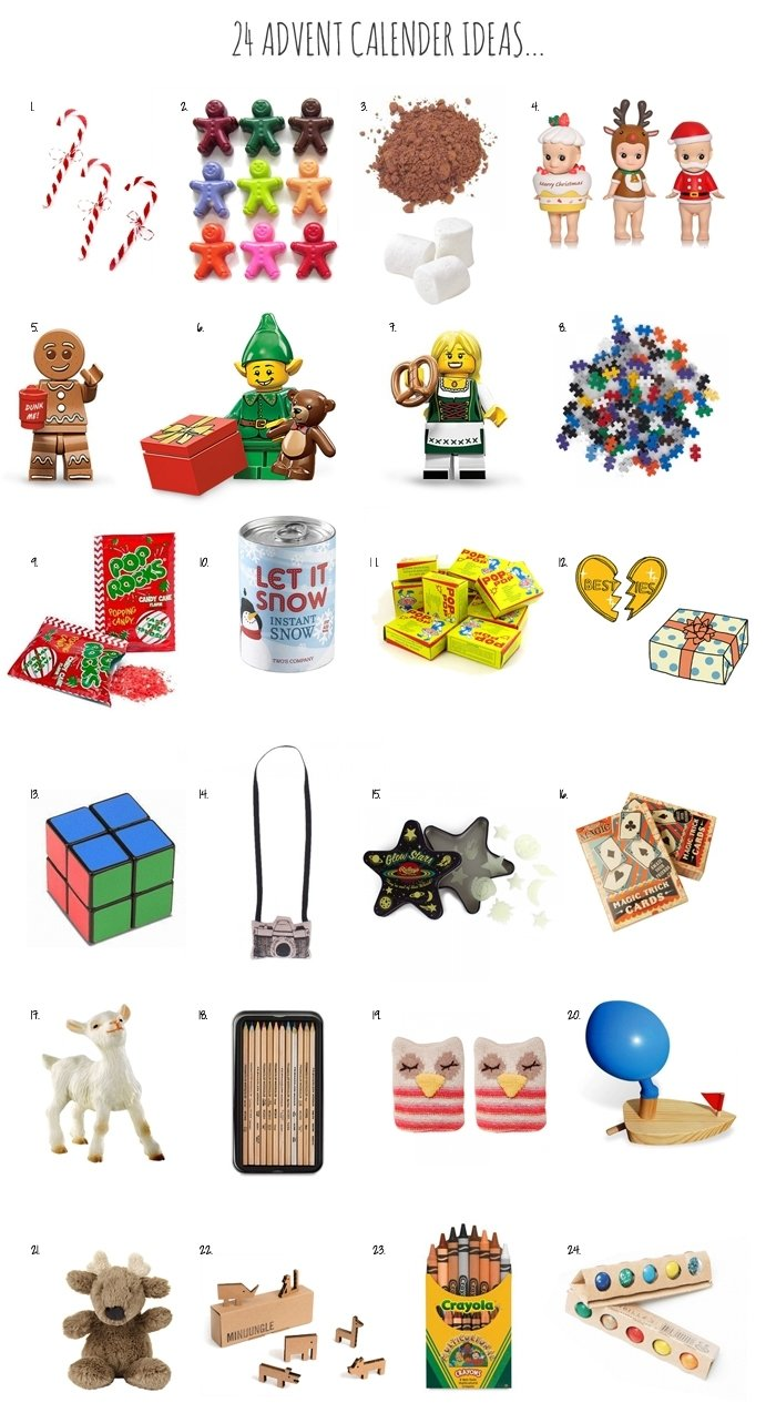 10 Trendy Ideas For Advent Calendar Gifts advent calendar gifts surprises