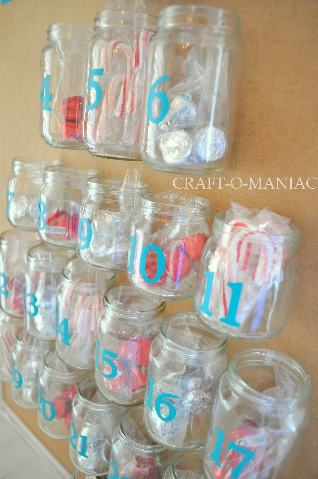 10 Great Craft Ideas For Baby Food Jars advent calender from recycled baby food jars craft o maniac 2020