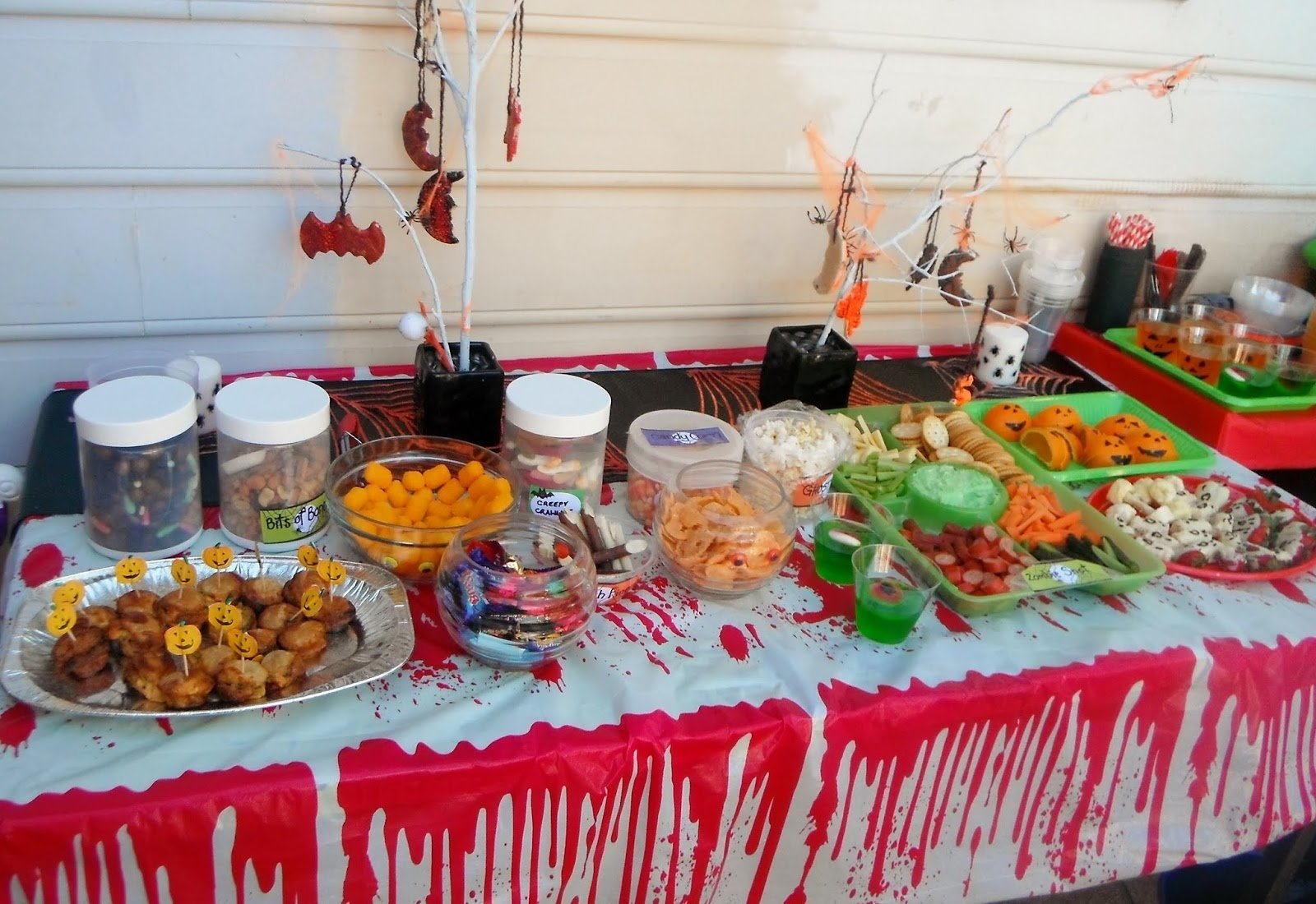 10 Trendy Halloween Birthday Party Ideas For Kids adventures at home with mum halloween party food 1 2021