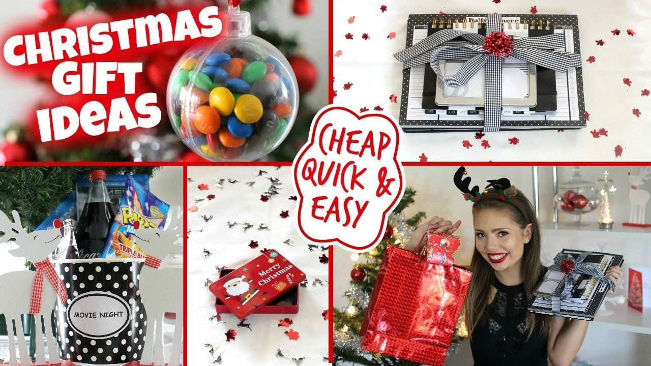 10 Ideal Cheap Ideas For Christmas Gifts affordable christmas gift ideas guide quick cheap easy youtube 5 2020
