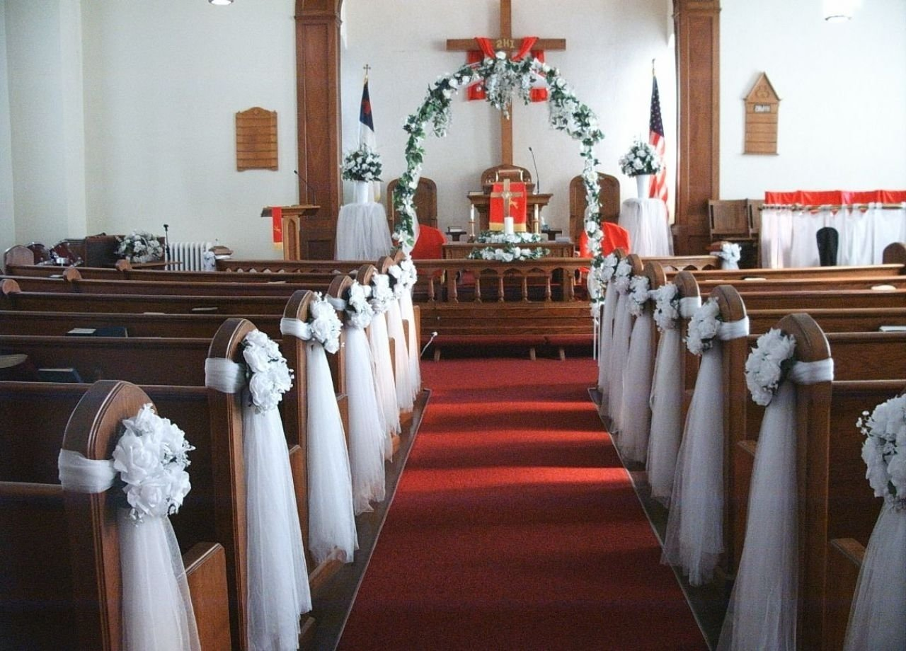 10 Great Wedding Decoration Ideas For Church