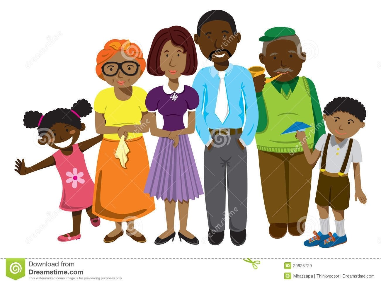 10 Fantastic African American Family Reunion Ideas african american family clip art african american family royalty 2021