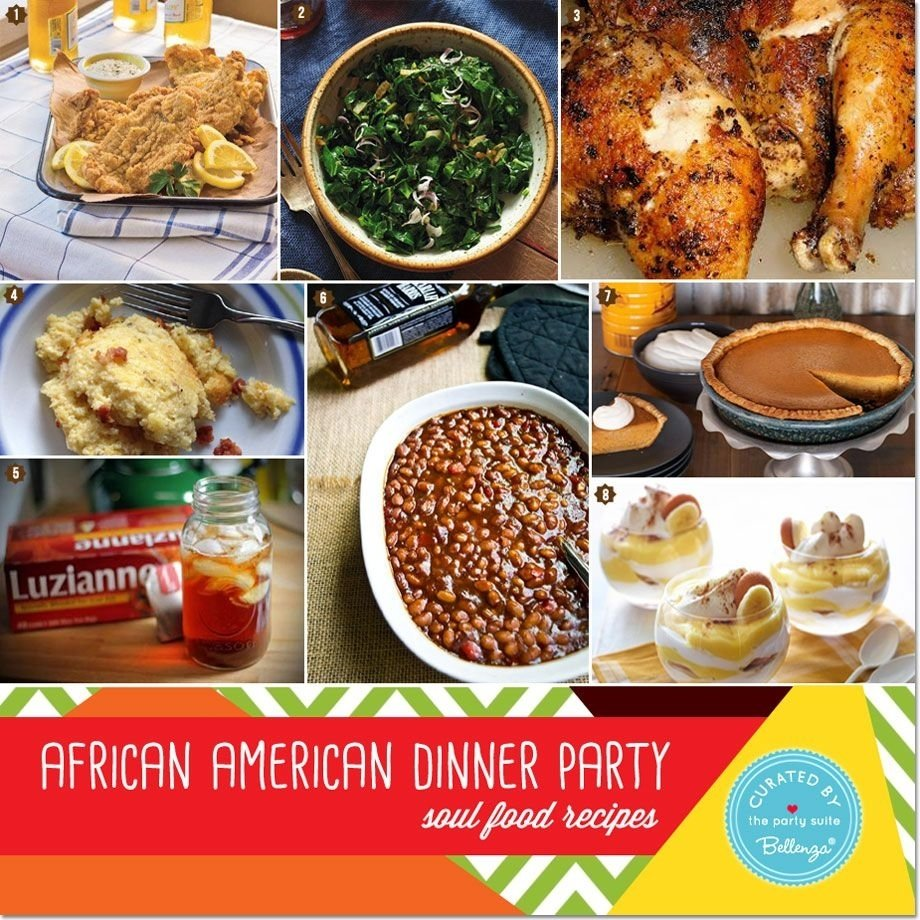10 Fashionable Sunday Dinner Ideas Soul Food african american heritage dinner party decor and menu ideas 2 2020