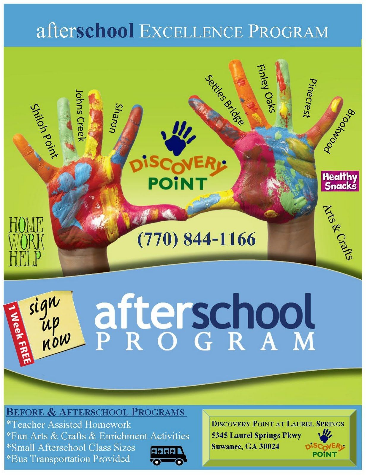 after school program poster | little wings | school posters, school