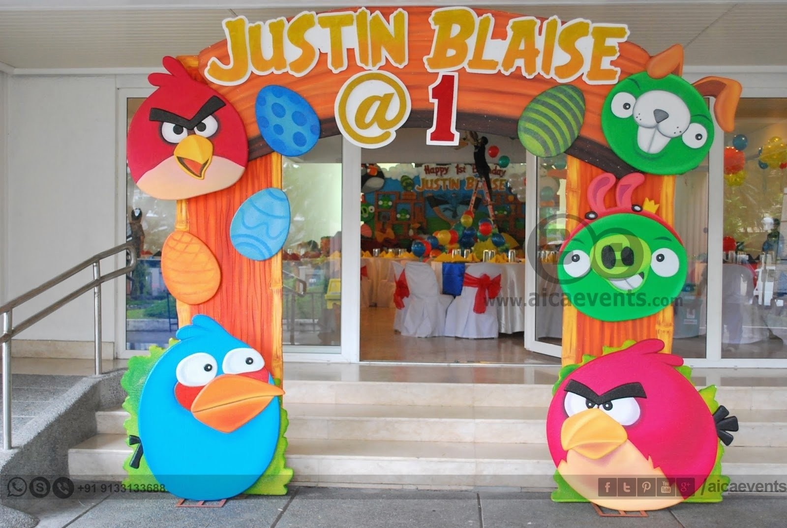 10 Famous Angry Bird Birthday Party Ideas aicaevents angry bird theme decors for birthday parties 1 2020