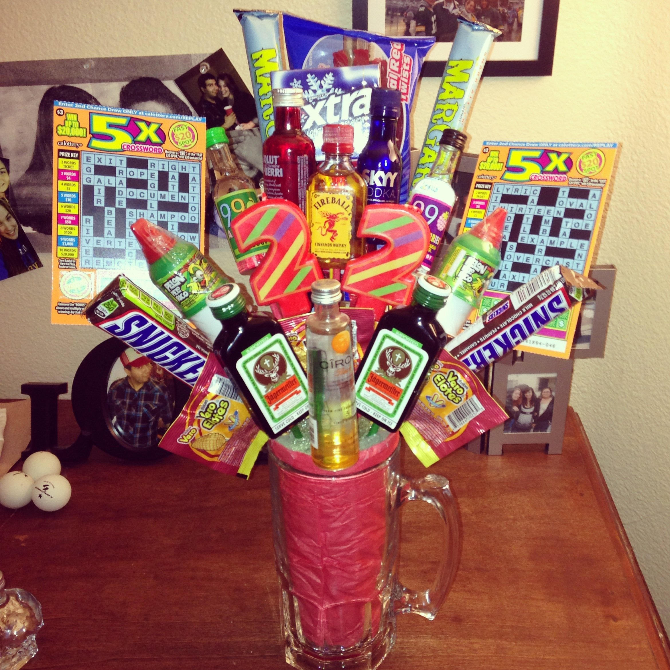 10 Lovely 30Th Birthday Gift Ideas For Best Friend Alcohol Bouquet Or A Broquet My