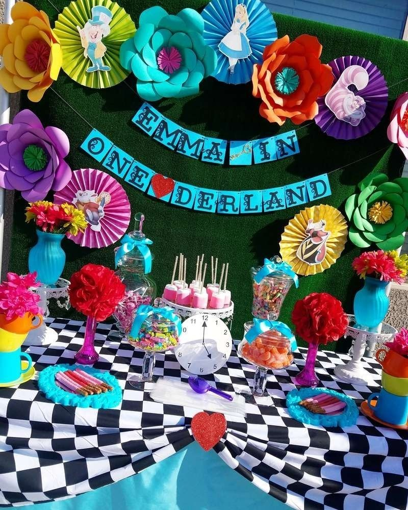 10 Great Alice In Wonderland Decorating Ideas alice in wonderland birthday party ideas alice birthdays and 2