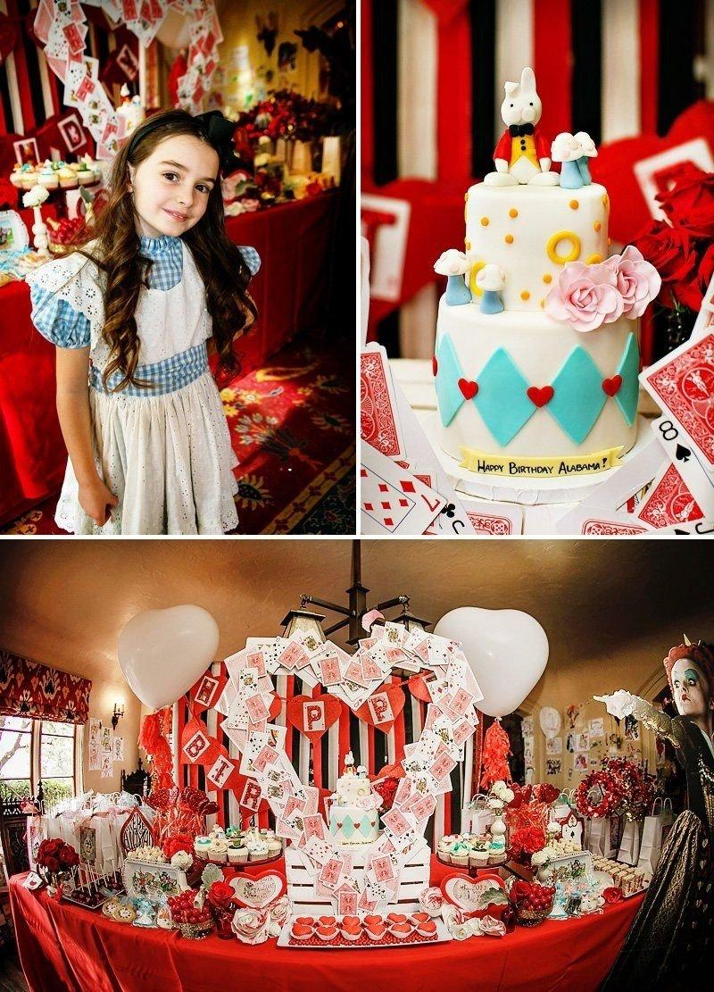 10 Ideal Alice In Wonderland Birthday Ideas alice in wonderland birthday party whimsy fantasy birthday 2021