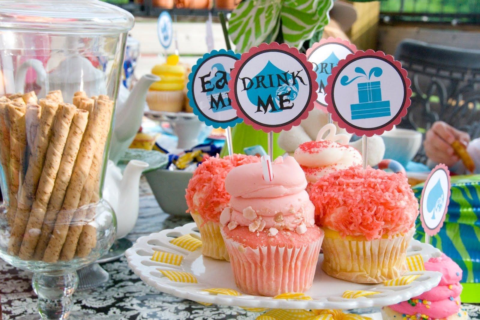 10 Elegant Alice In Wonderland Party Food Ideas alice in wonderland party ideas 2 2021